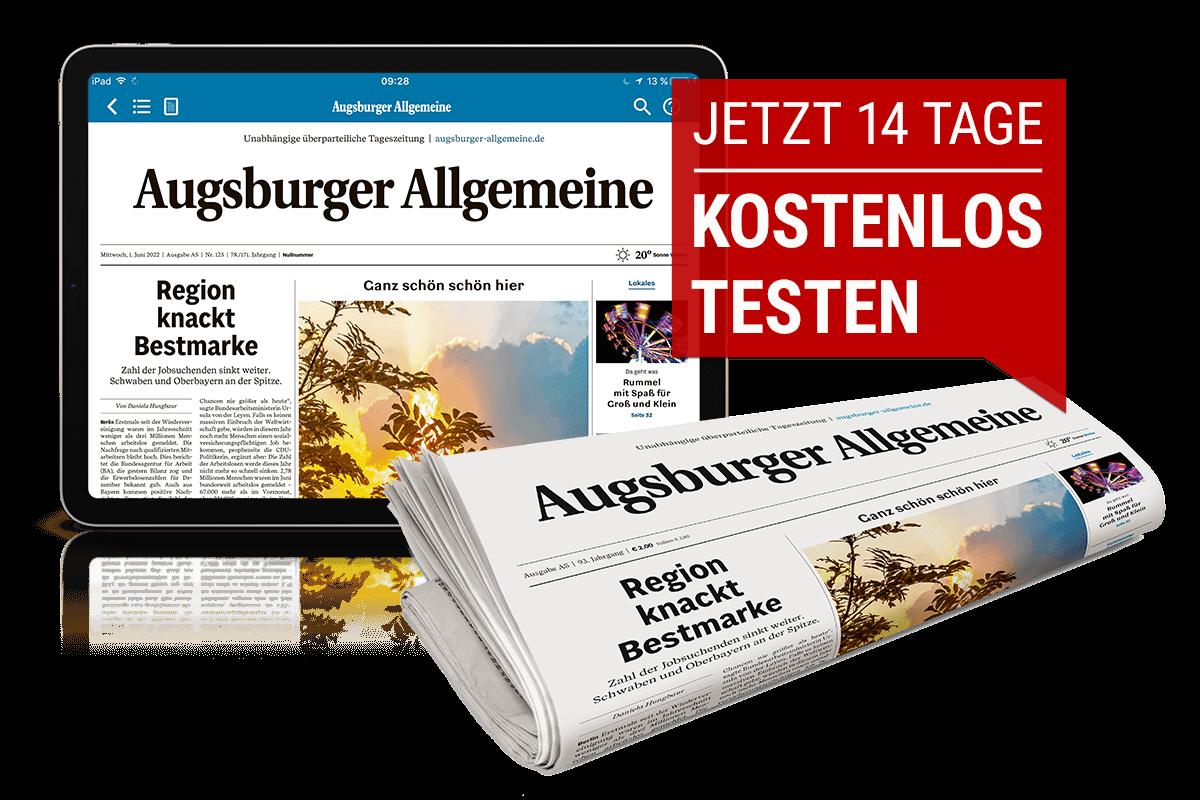 Augsburger Allgemeine 14 Tage kostenlos testen