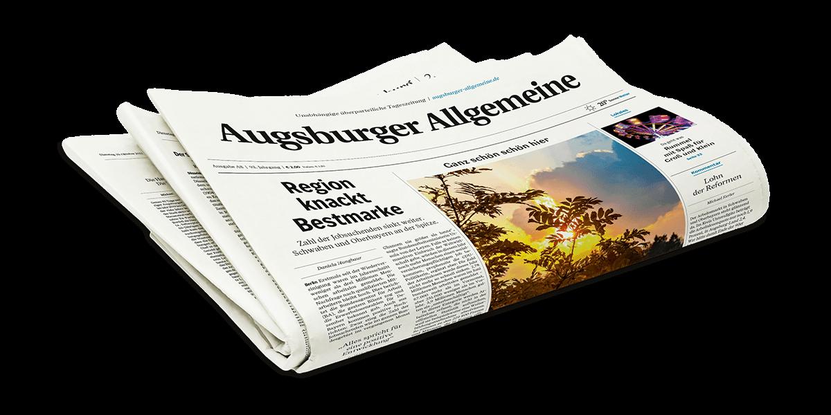 Augsburger Allgemeine Print-Abo | Angebote & Preise