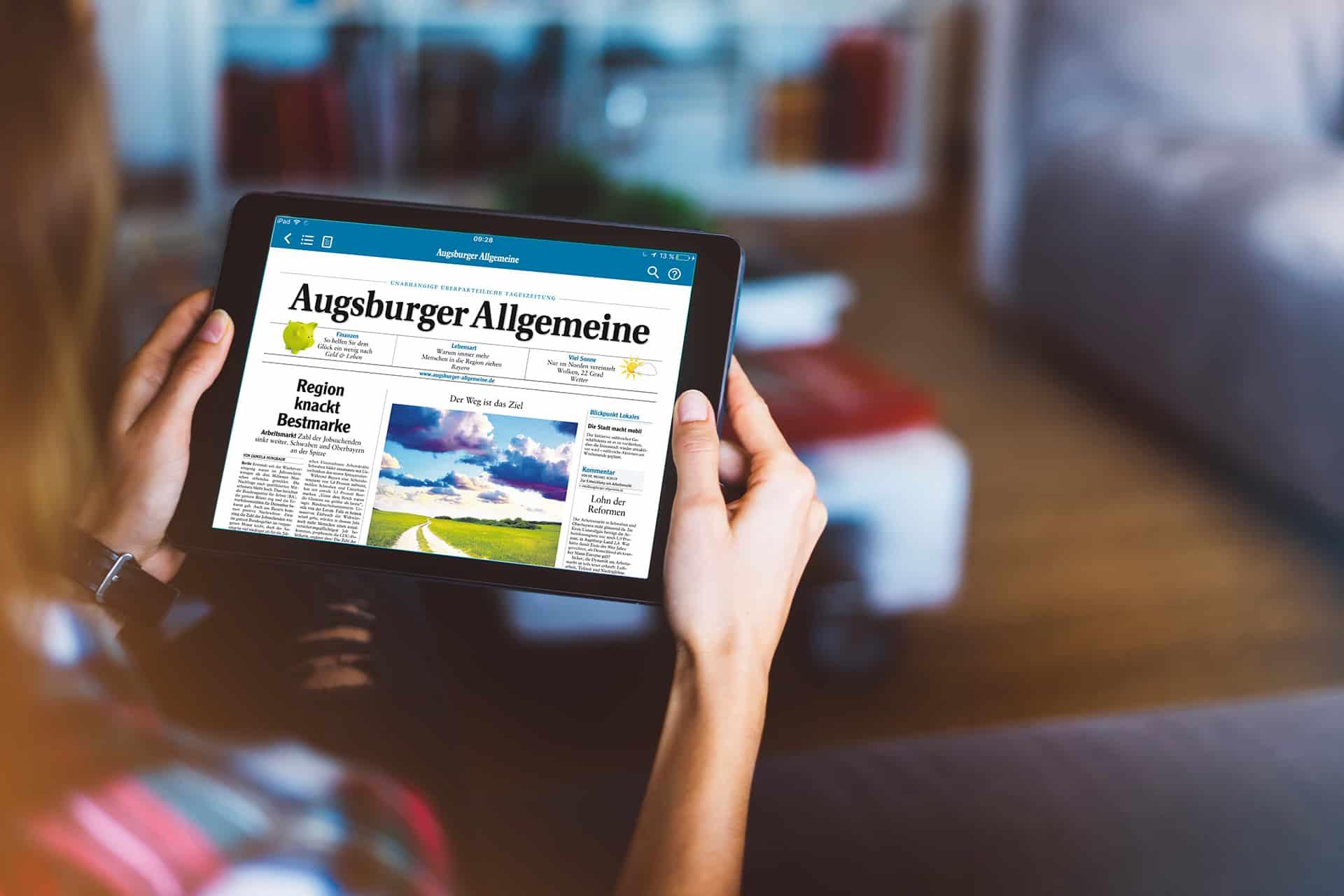 e-Paper-Abonnenten bekommen eine zusätzliche Ausgabe ihrer Zeitung bereits am Vorabend – ohne Zusatzkosten.